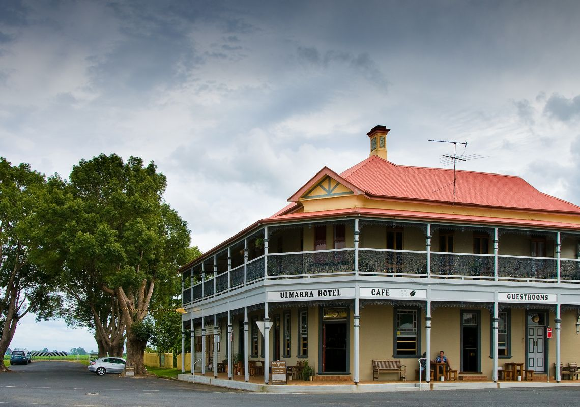 Ulmarra Hotel in Ulmarra - Clarence Valley - North Coast