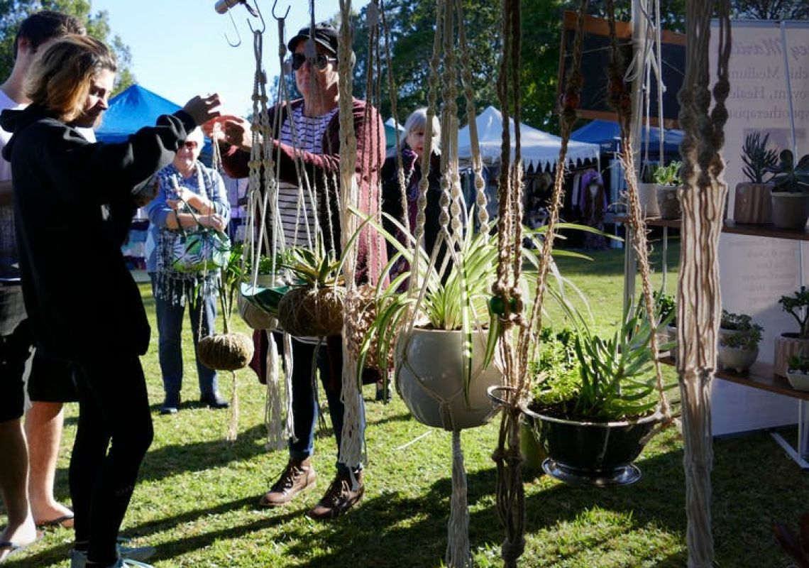 Makers & Finders Market at Knox Park in Murwillumbah, Tweed Area