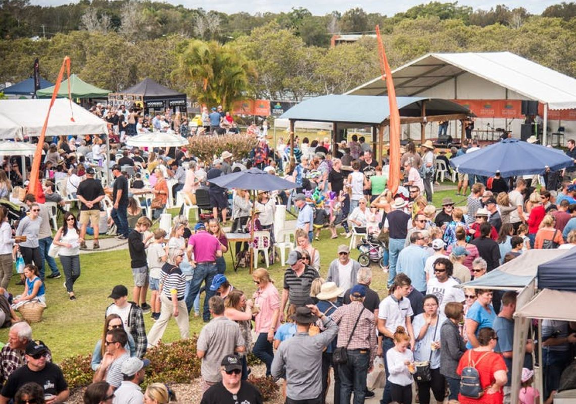 Slice of Haven Festival in Port Macquarie, North Coast