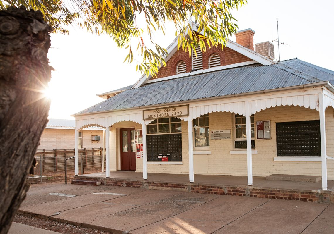 Menindee Post Office in Broken Hill, Outback NSW