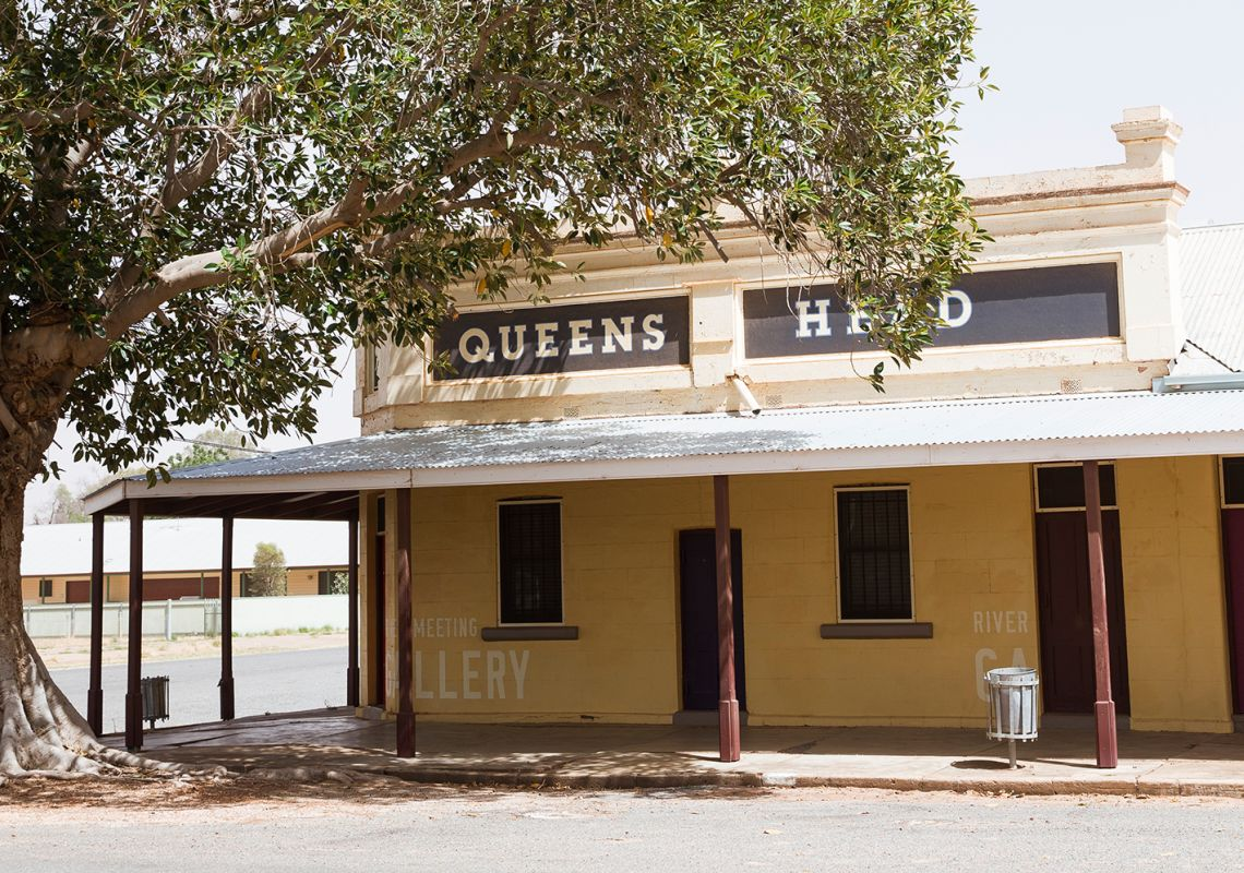 Queens Head Wilcannia Hotel in Wilcannia,  White Cliffs Area