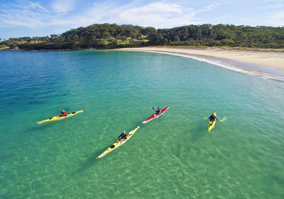 Kayaking in Jervis Bay - South Coast