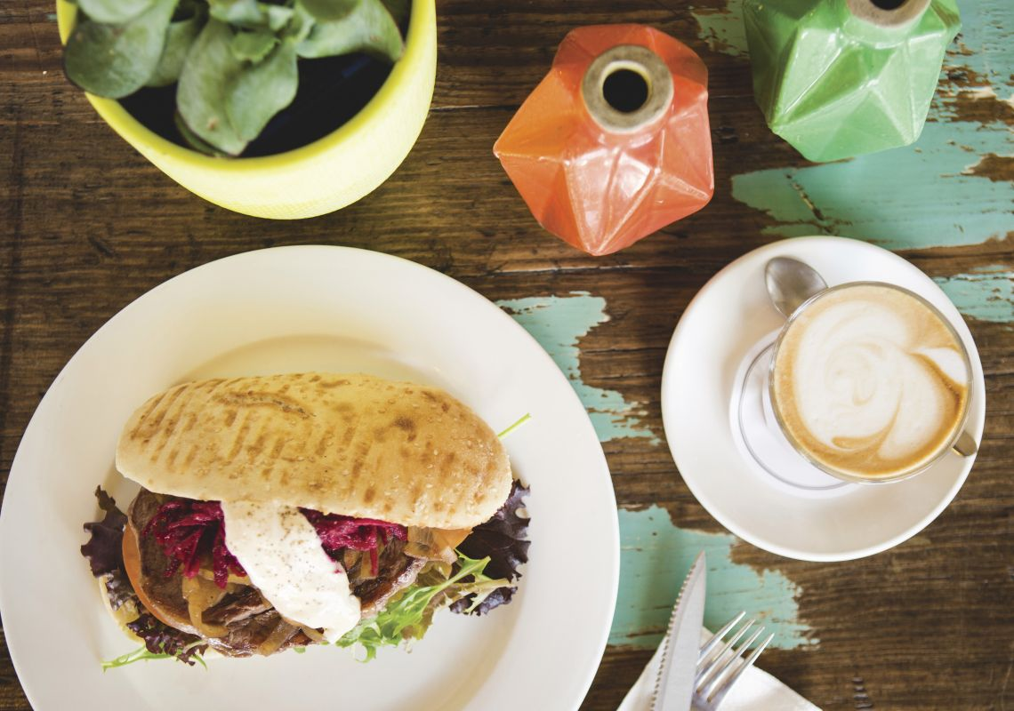 Lunch and coffee available at Cafe Graze in Walcha, Country NSW