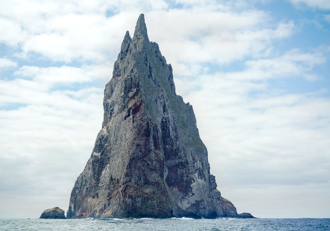 Balls Pyramid, the tallest volcanic stack in the world, Lord Howe Island