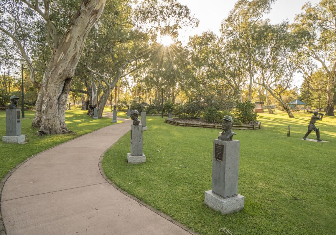 Unique to Cootamundra, the Captains Walk features in Cootamundra, Riverina