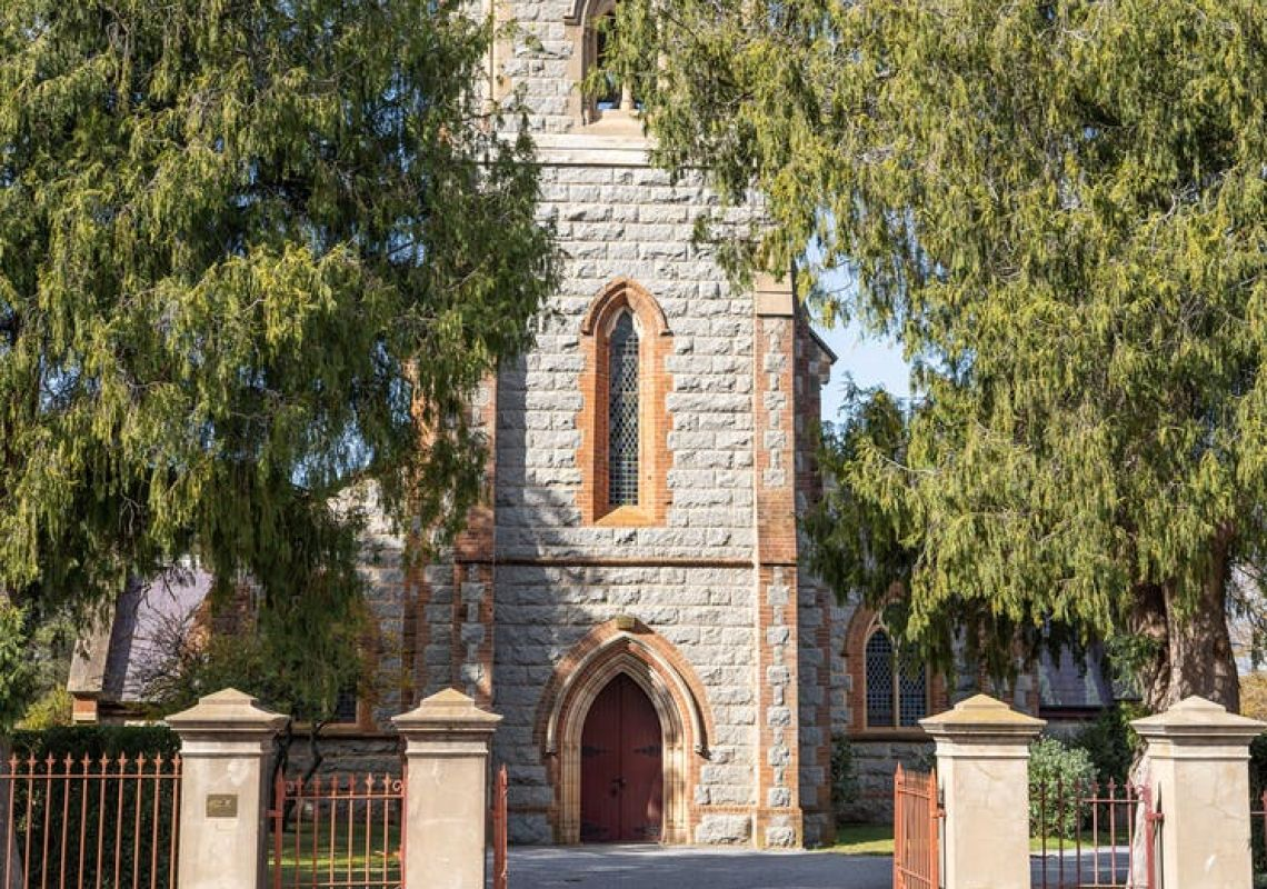 Church in braidwood, Queanbeyan, Country NSW