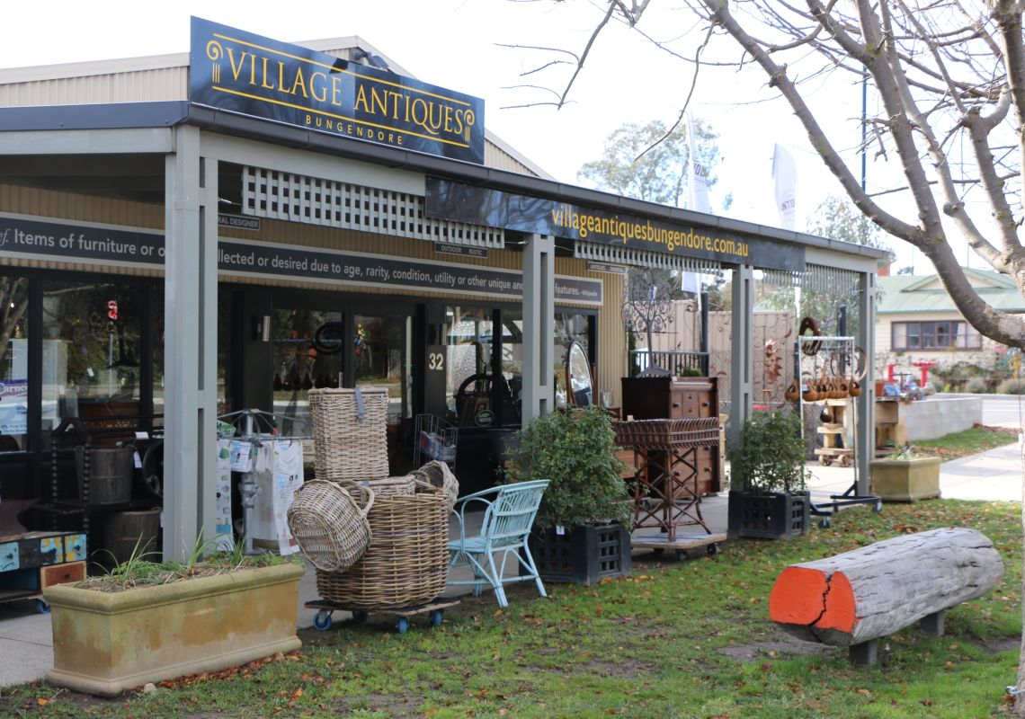 Front of House, Village Antiques in Bungendore, Queanbeyan Area, Country NSW