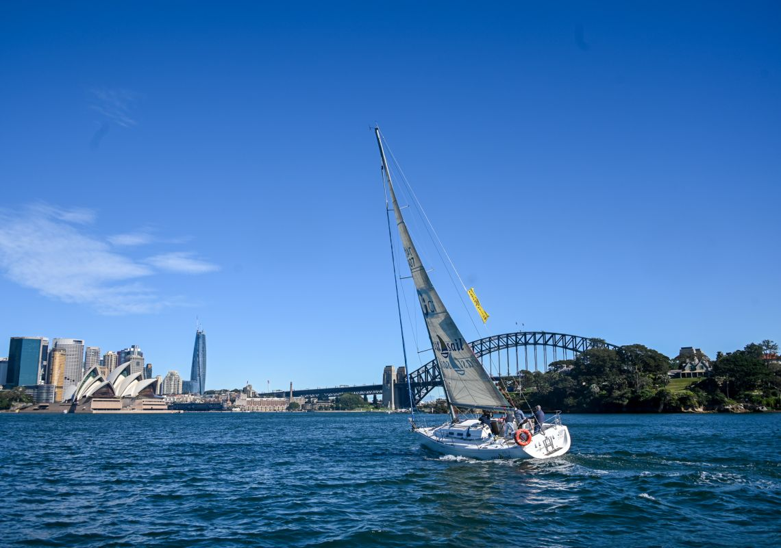 Eastsail are experts in sailing. Image Credit: Taste of Australia