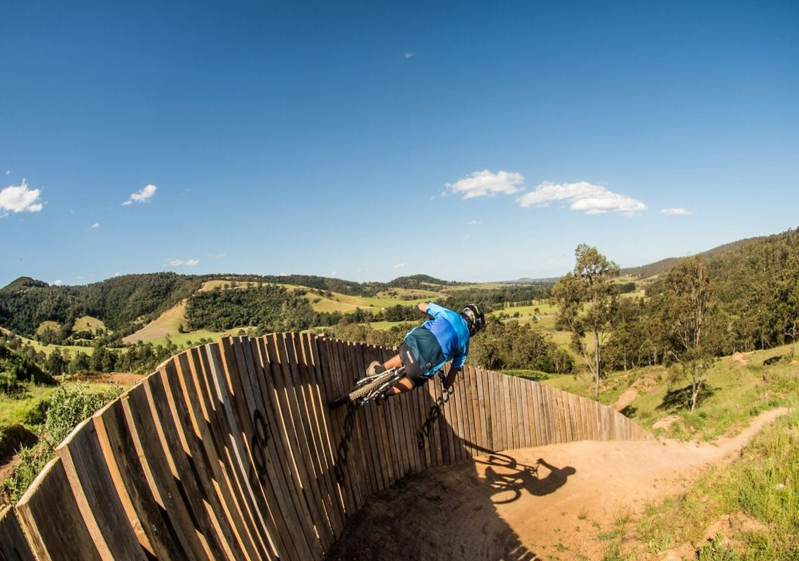 Bigfoot Trail at Greenvalleys Mountain Bike Park, Shellharbour Area
