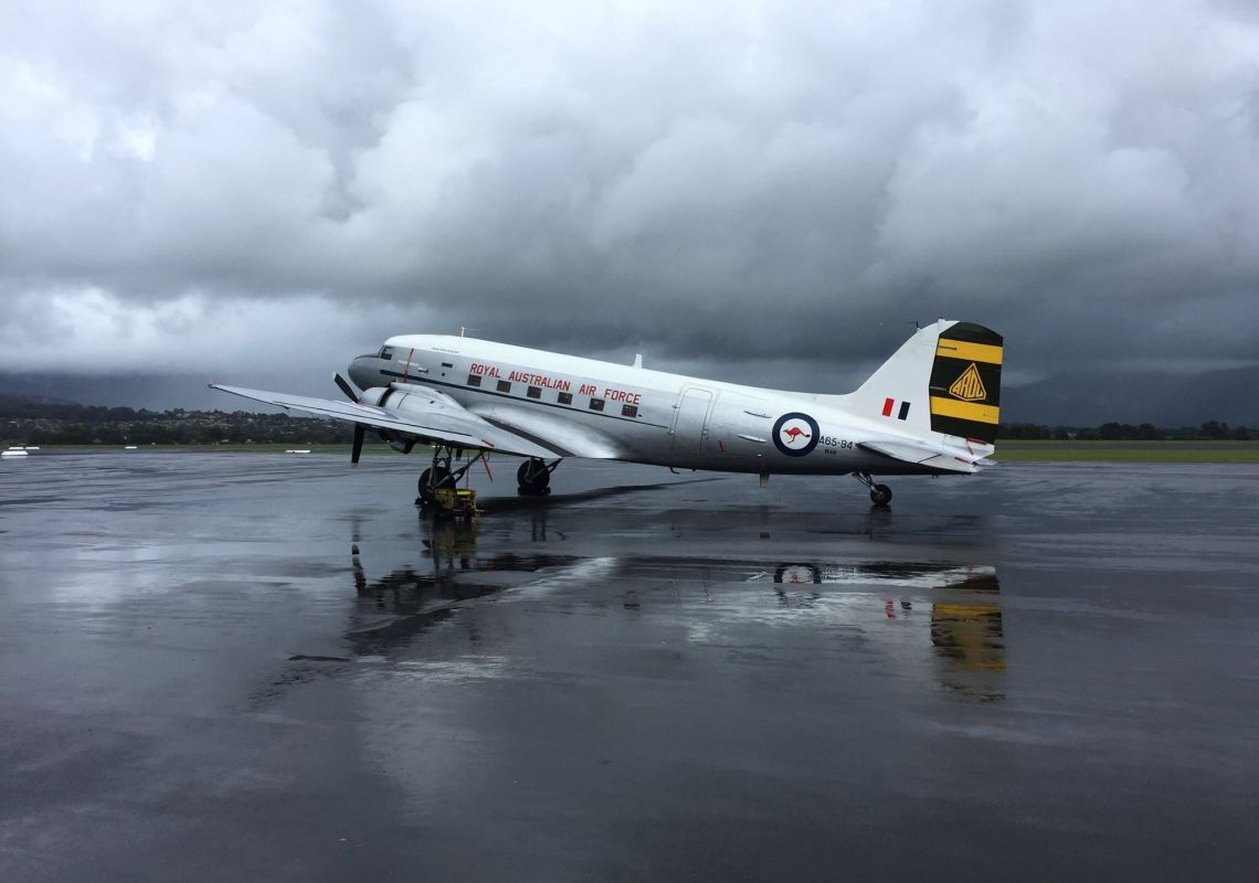 C-47 Dakota at HARS Aviation Museum in Albion Park, Shellharbour Area, South Coast