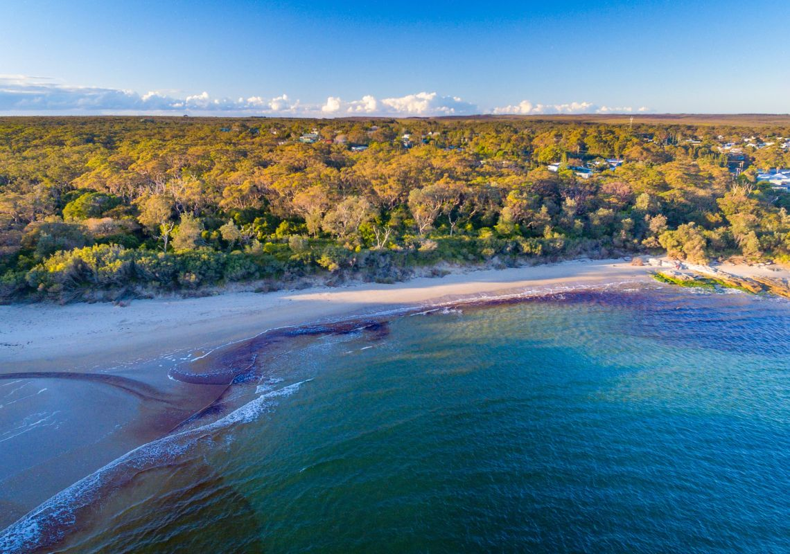 Abrahams Bosom Beach in Currarong, Jervis Bay & Shoalhaven, South Coast