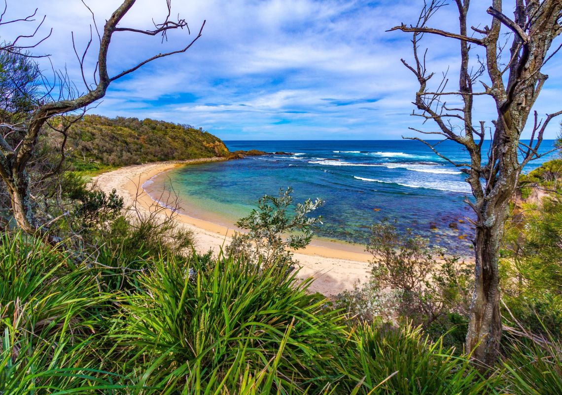 Bendalong Beach in Lake Conjola, Jervis Bay & Shoalhaven, South Coast