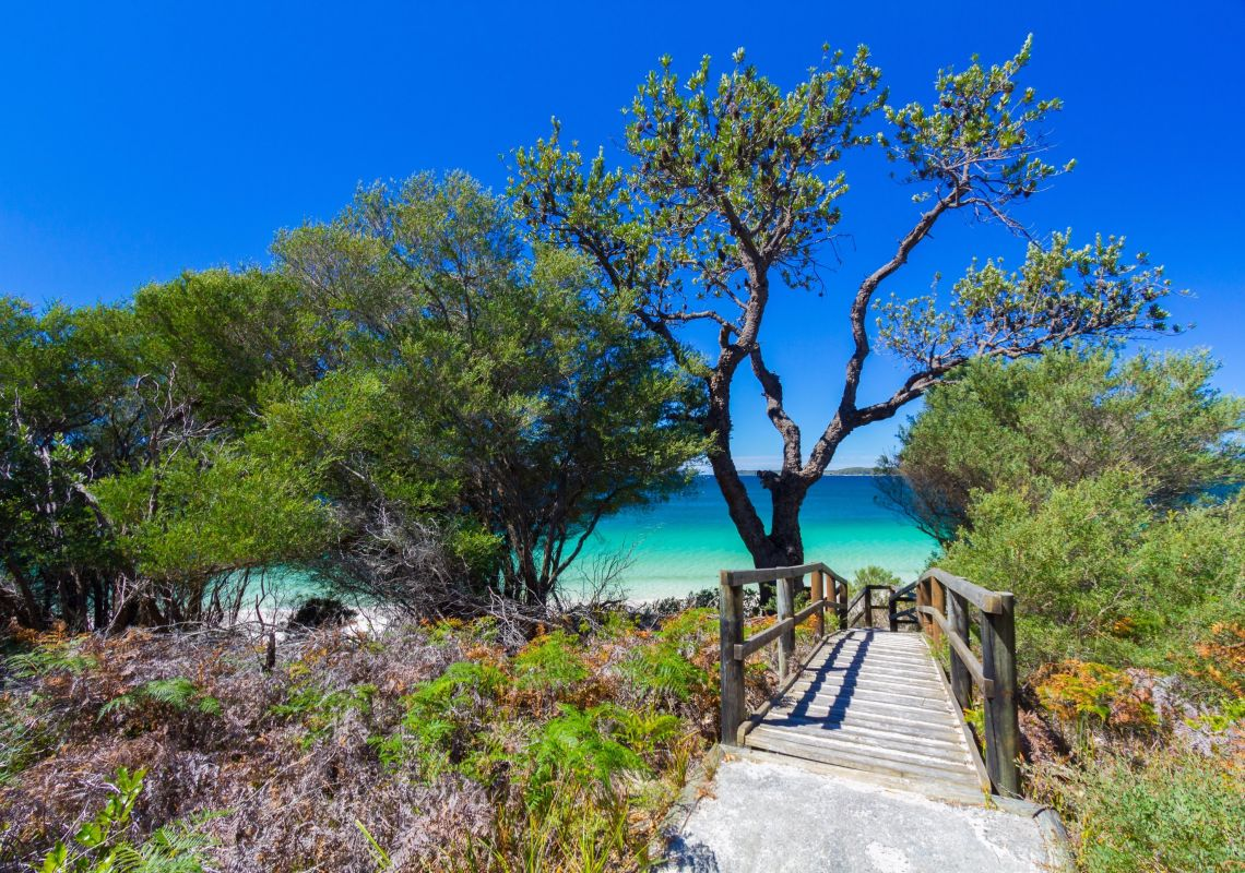 Iluka Beach in Jervis Bay, Jervis Bay & Shoalhaven, South Coast