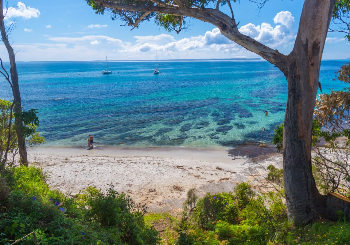Shark Net Beach in Huskisson, Jervis Bay & Shoalhaven