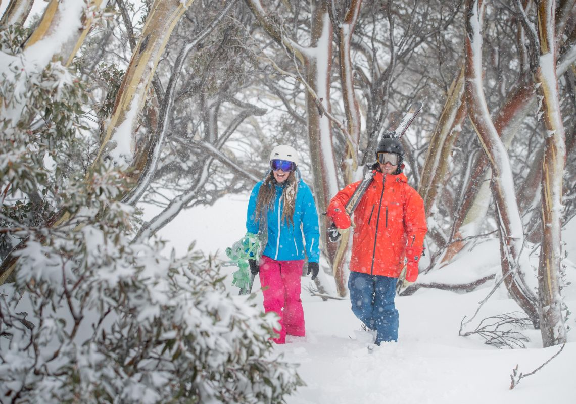 Backcountry in Perisher, Snowy Mountains