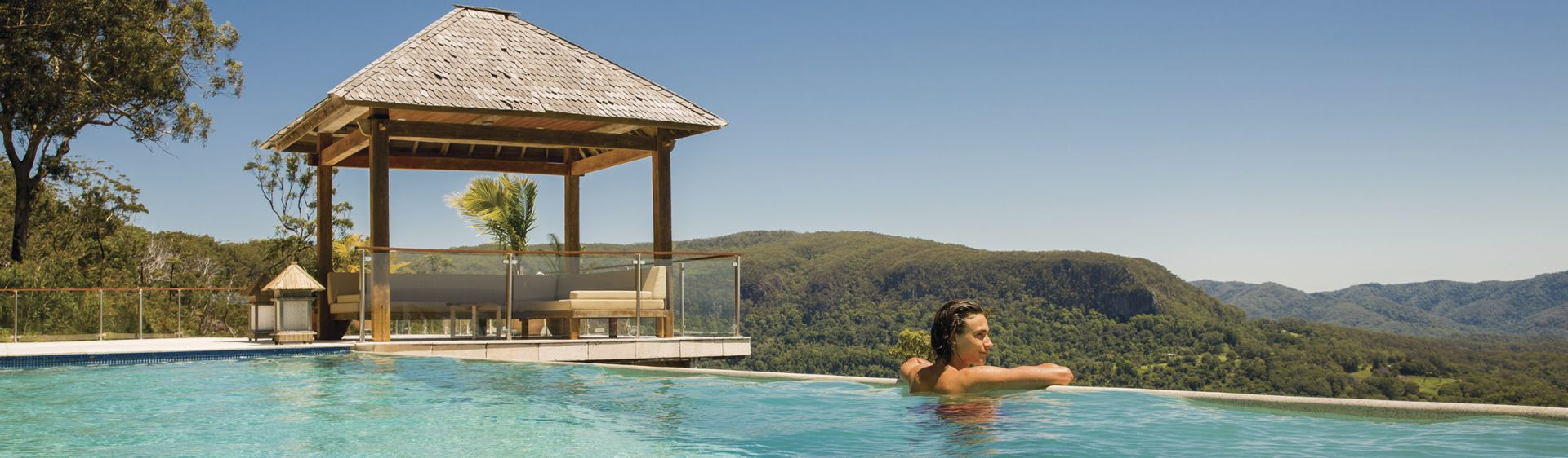 Koonyum Range Retreat Pool - Mullumbimby