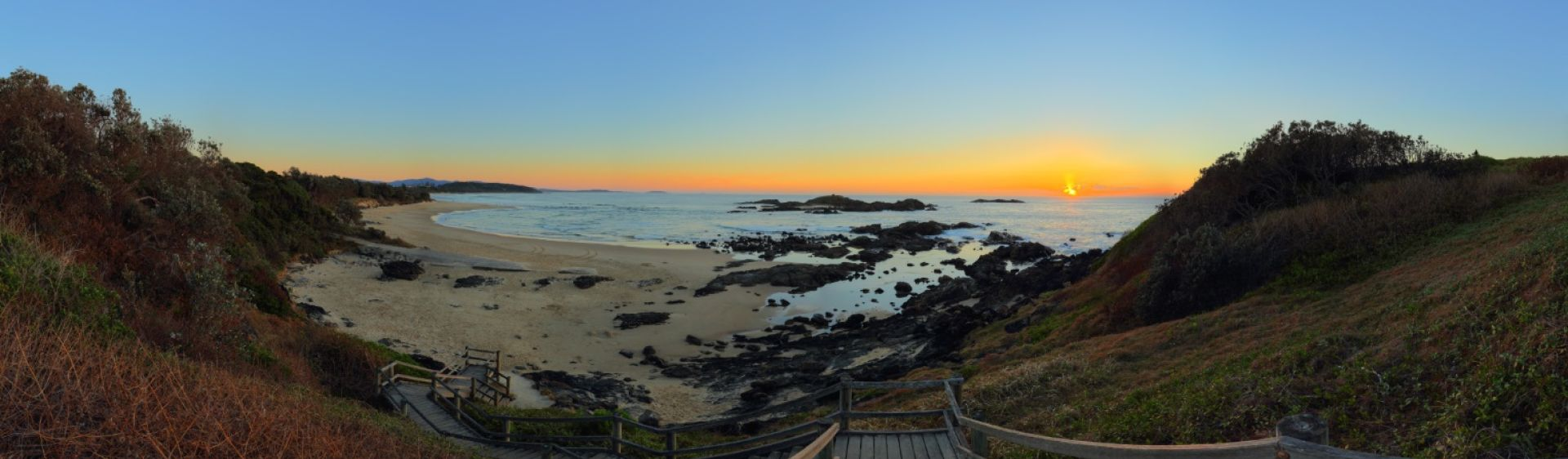 Sunrise in Sawtell - Coffs Coast