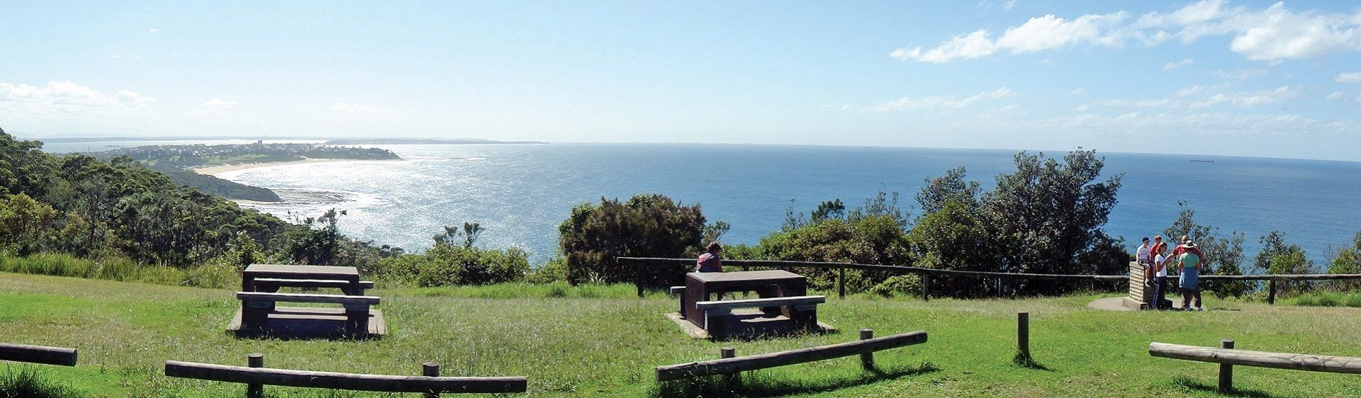 Crackneck Point Lookout, The Entrance