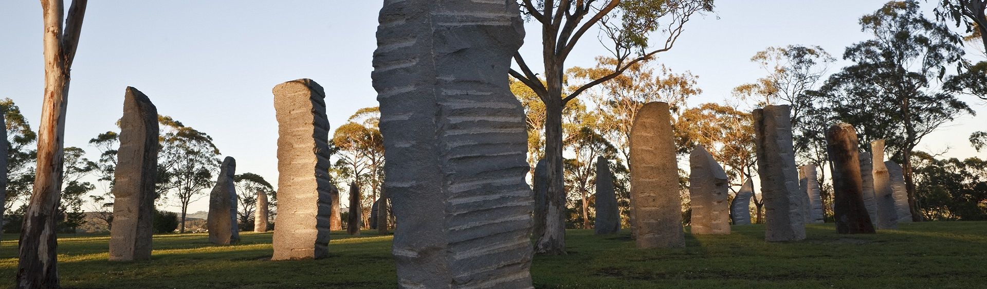 Celtic heritage tribute the Australian Standing Stones, Glen Innes