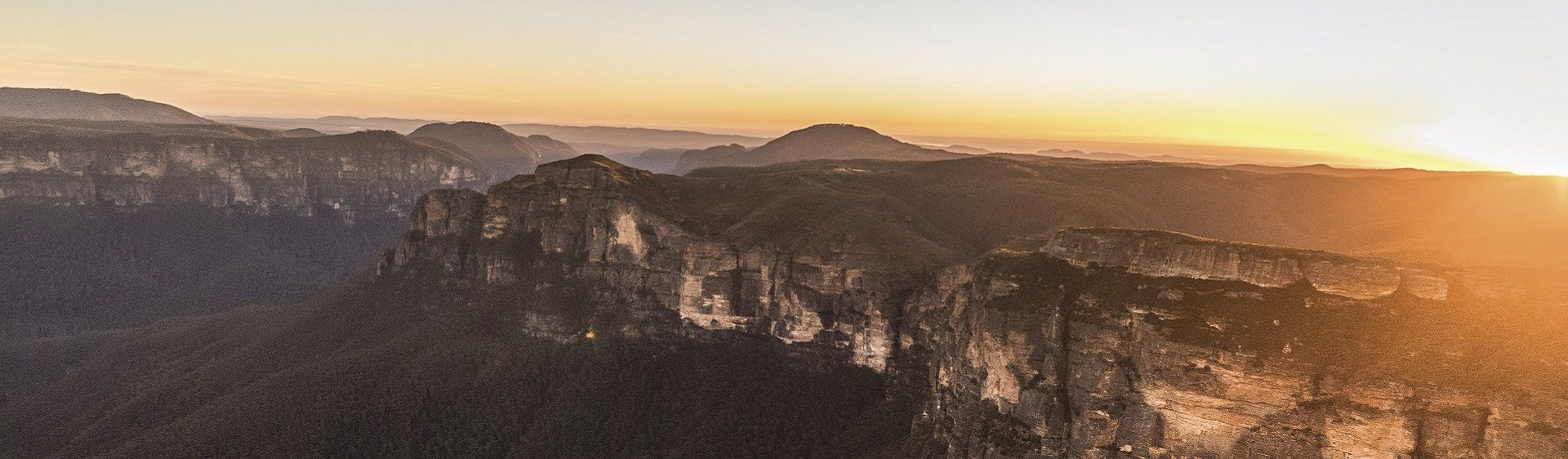 Govetts Gorge and Grose Valley in the Blue Mountains National Park