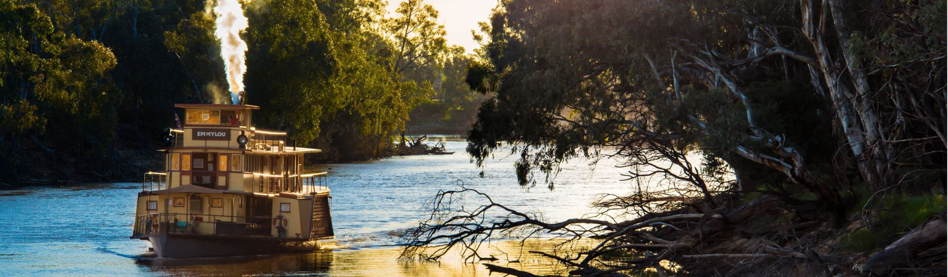 The Murray River, Echuca