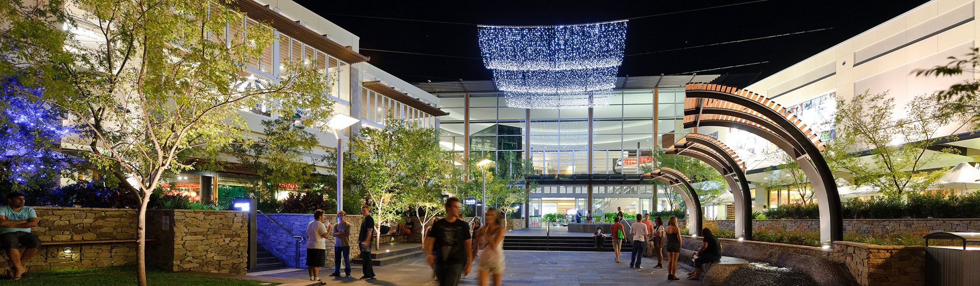 Late night shoppers at Charlestown Square shopping centre, Lake Macquarie