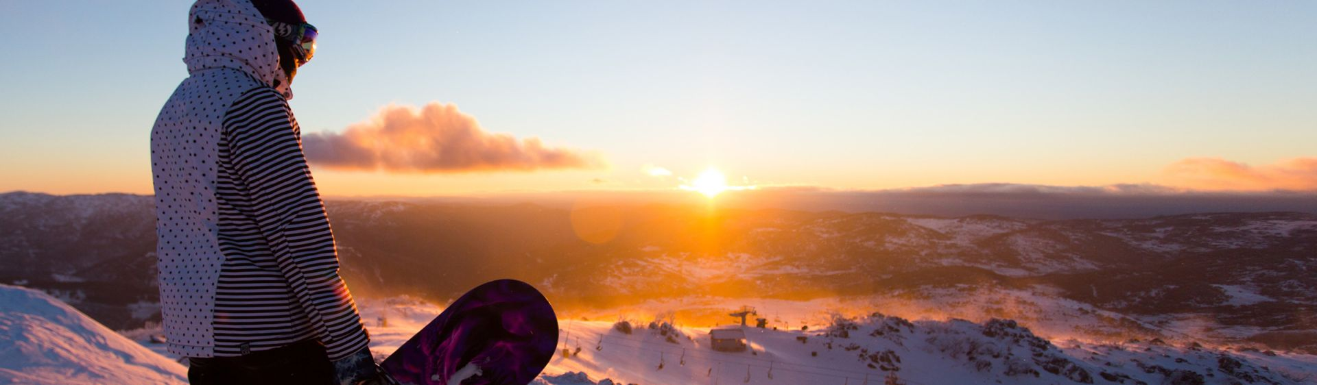 Sunrise in Blue Cow - Perisher - Snowy Mountains
