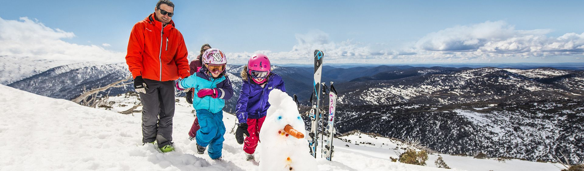 Perisher ski Village - family fun - Snowy Mountains