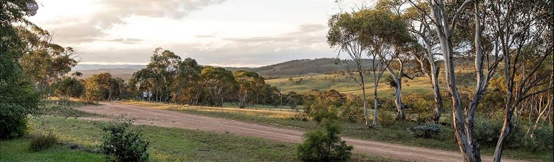 The view from The Lodge, The Range accommodation, Berridale
