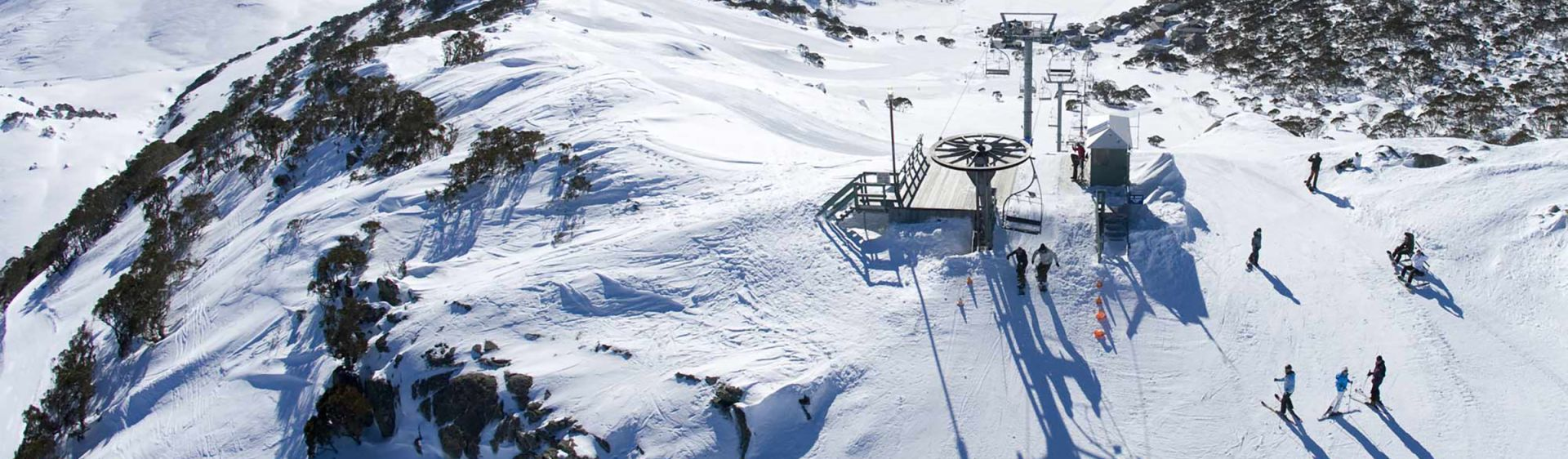 Charlotte Pass chair lift - Kosciuszko National Park