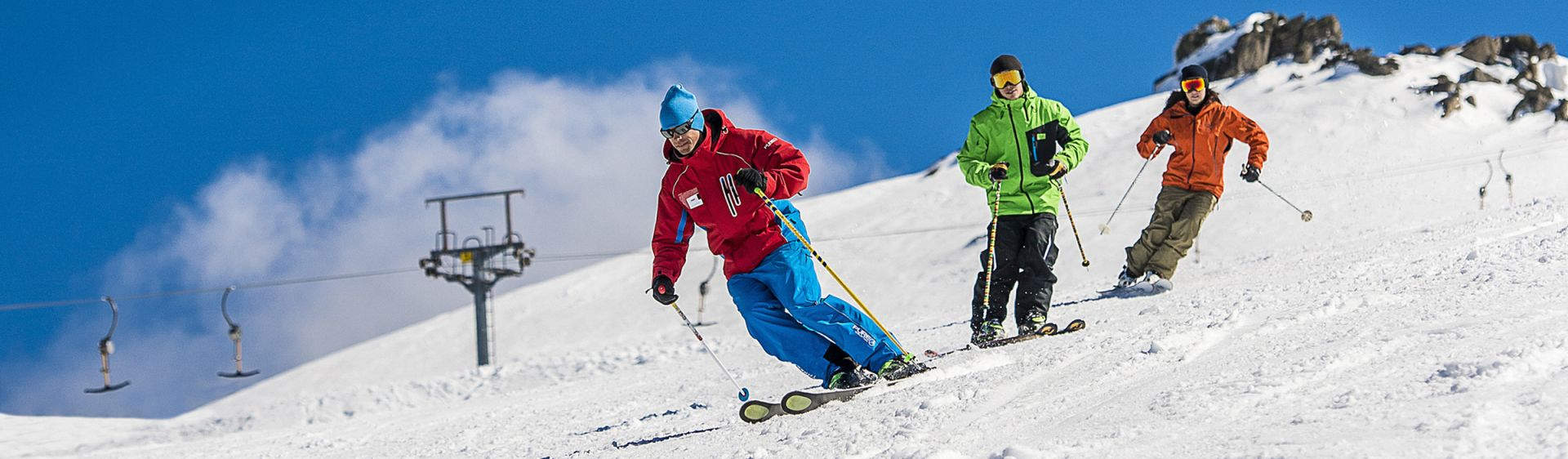 Skiing in Thredbo - Snowy Mountains