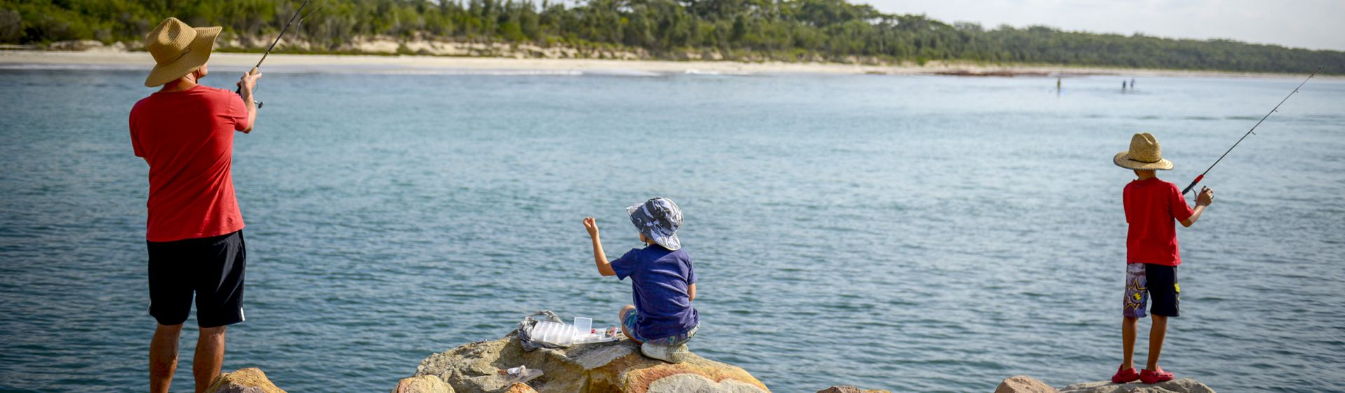 Fishing in Huskisson - Shoalhaven
