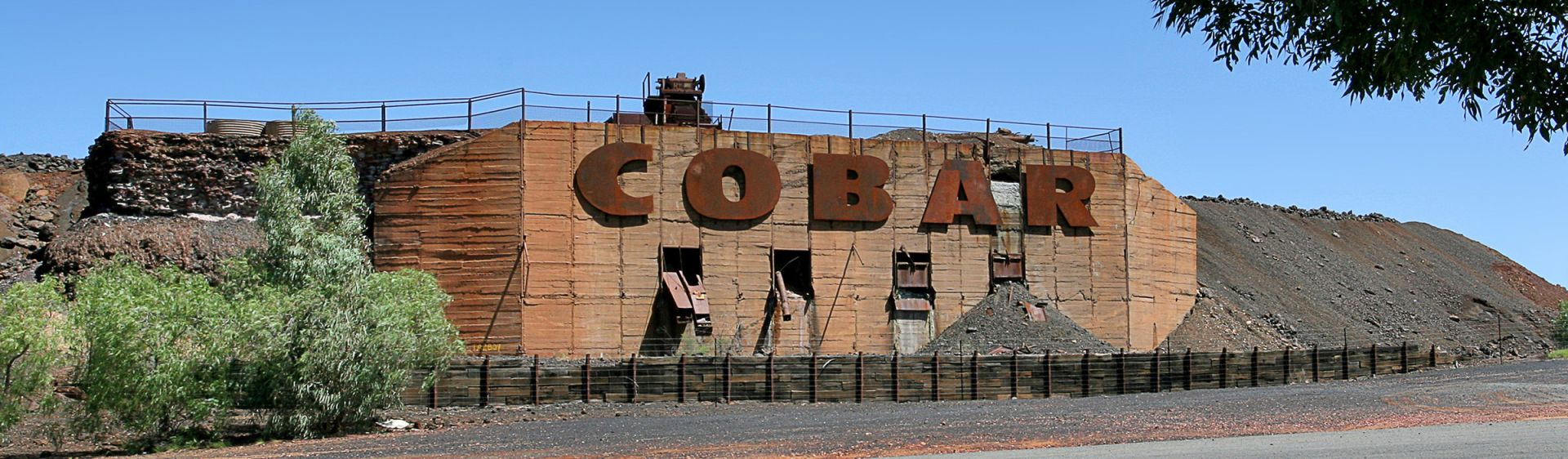 Cobar Sign - Outback NSW