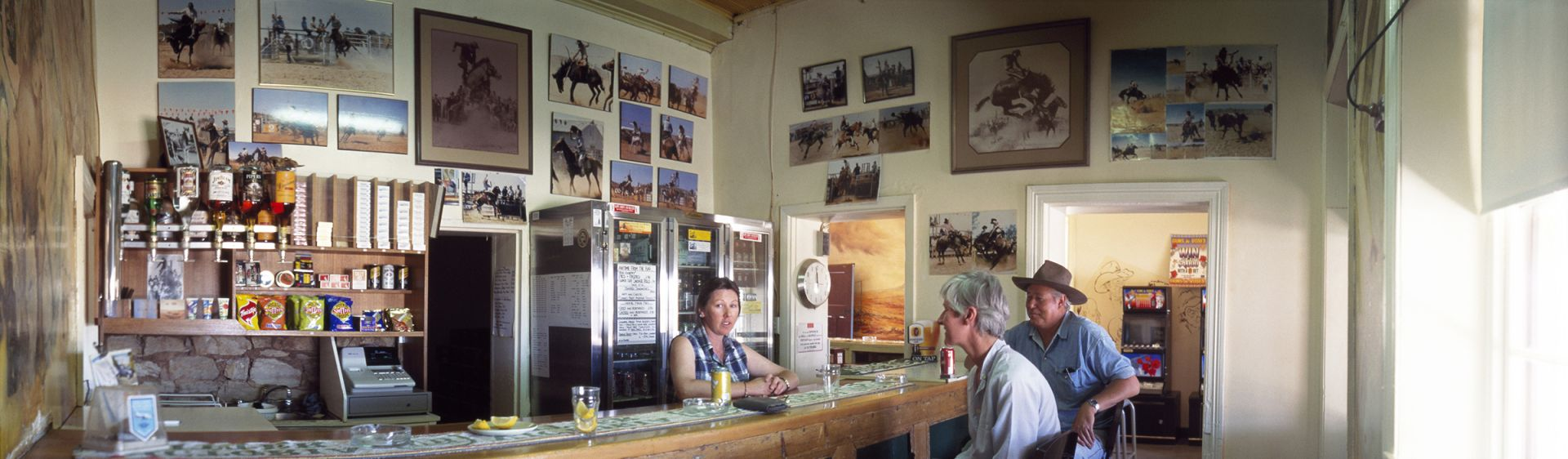 Meet the locals at the Tibooburra Hotel