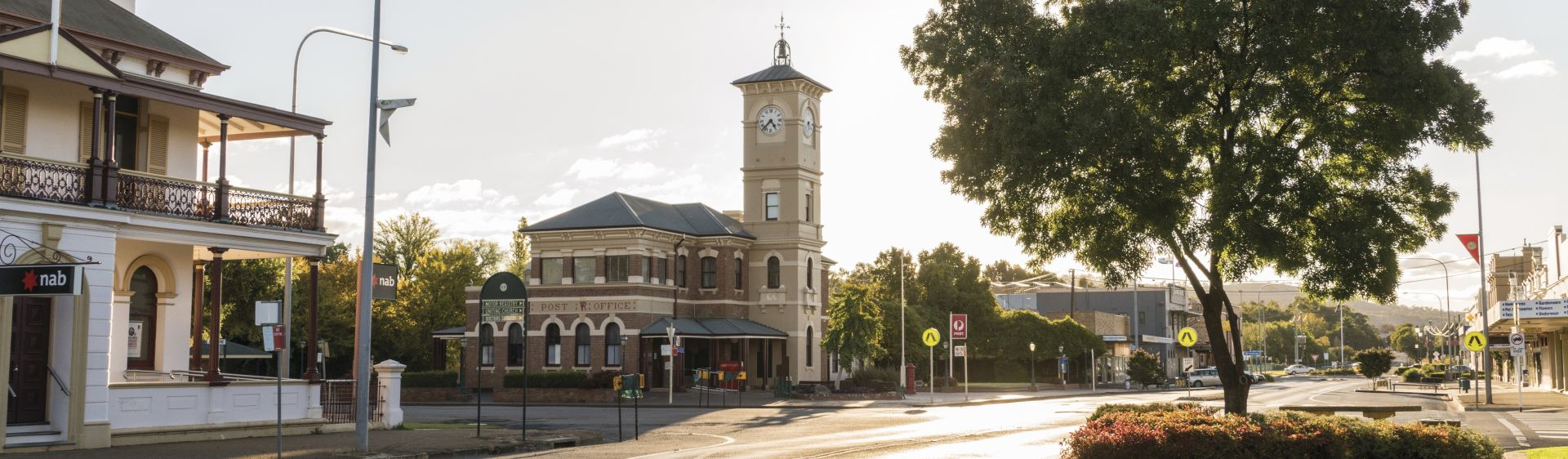 View of the 1881-built Cootamundra Post Office, Riverina, NSW