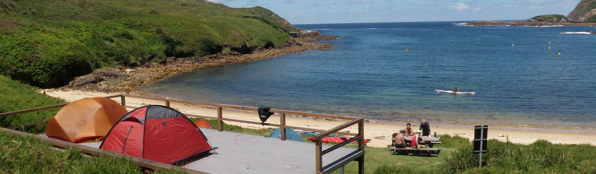 Coastal Accommodation - Broughton Island Campground - Hawks Nest