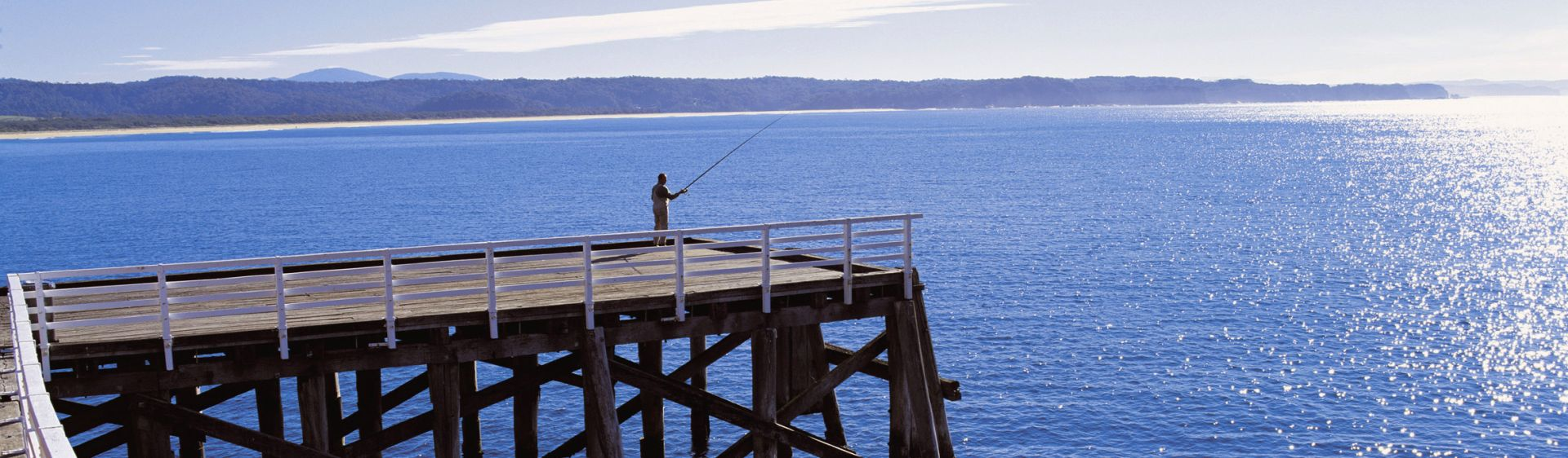 Early morning at Tathra Wharf on the Sapphire Coast