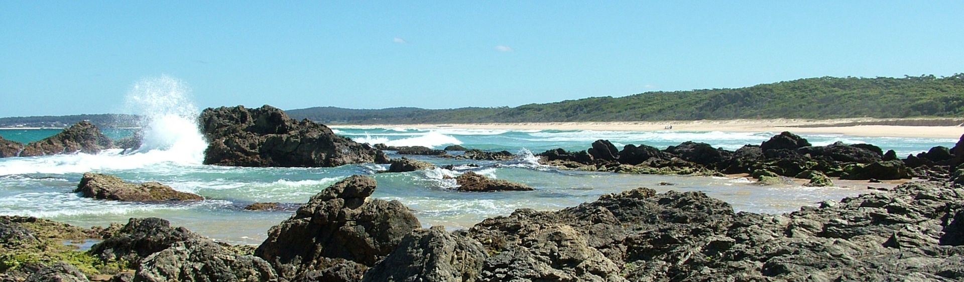 Haywards Beach at Bermagui on the South Coast