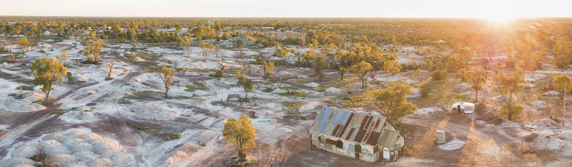 'The Goddess of 1967' Church - Lightning Ridge