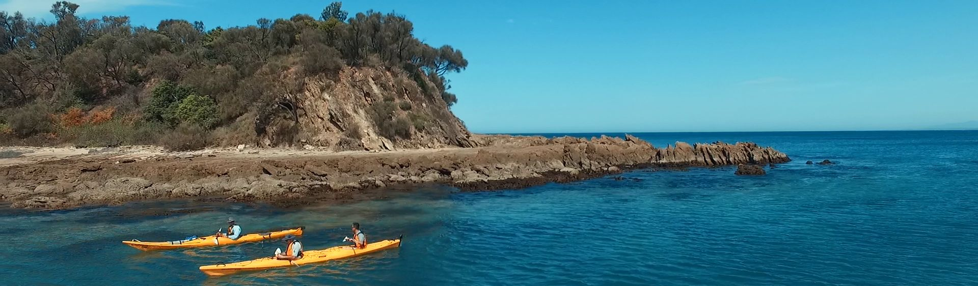 Kayaking  in the Eurobodalla region, South Coast NSW
