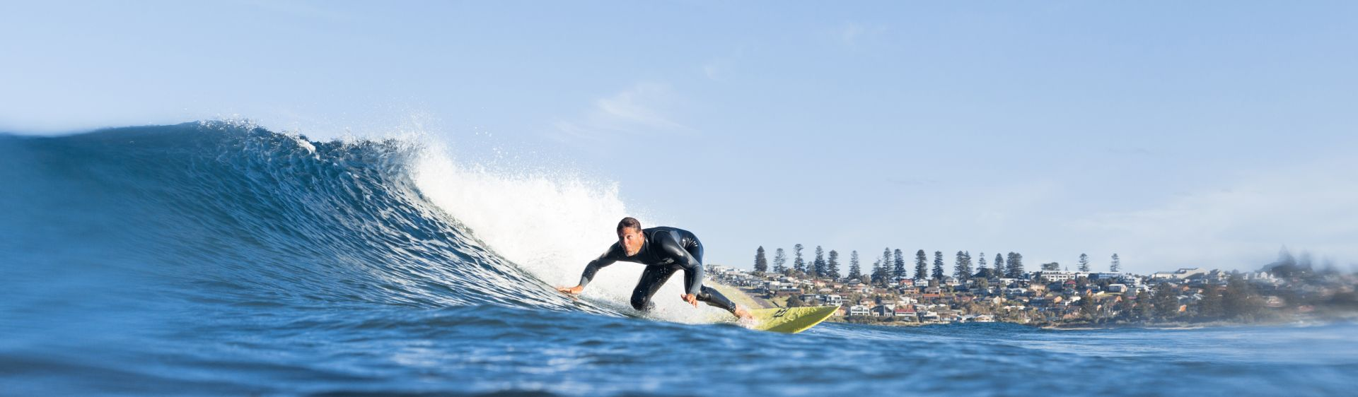 Surfing at Werri Beach, Gerringong, NSW South Coast