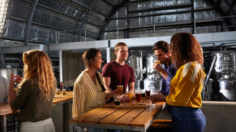 Friends at Ironbark Hill Brewhouse