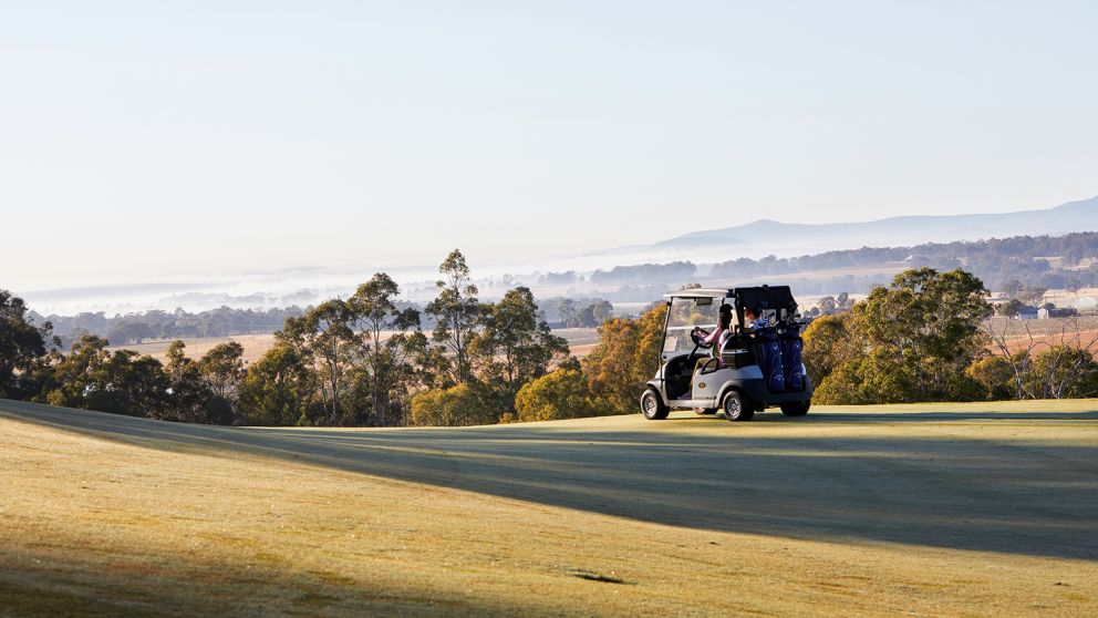 Hunter valley golf club in lovedale, Hunter Valley