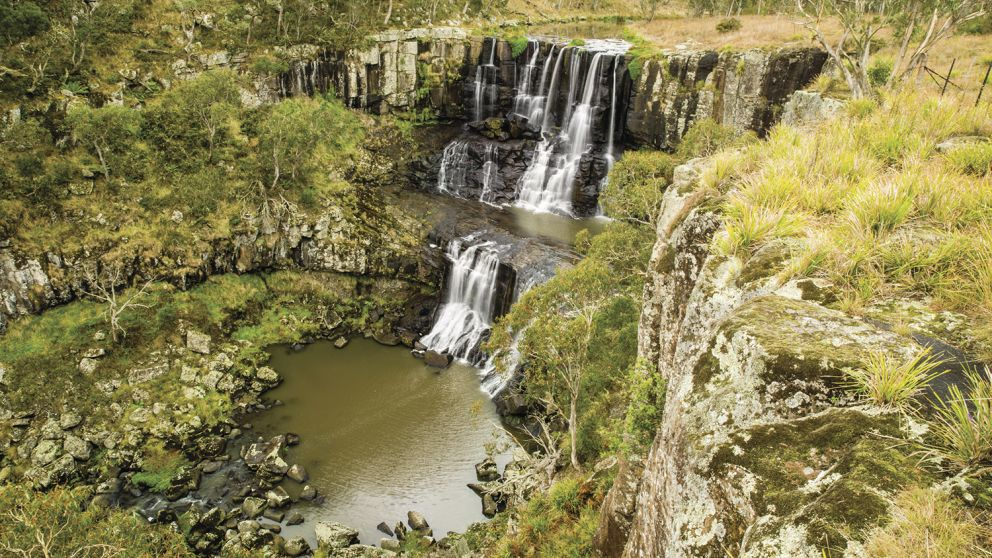 Ebor Falls at Ebor in Armidale area, Country NSW
