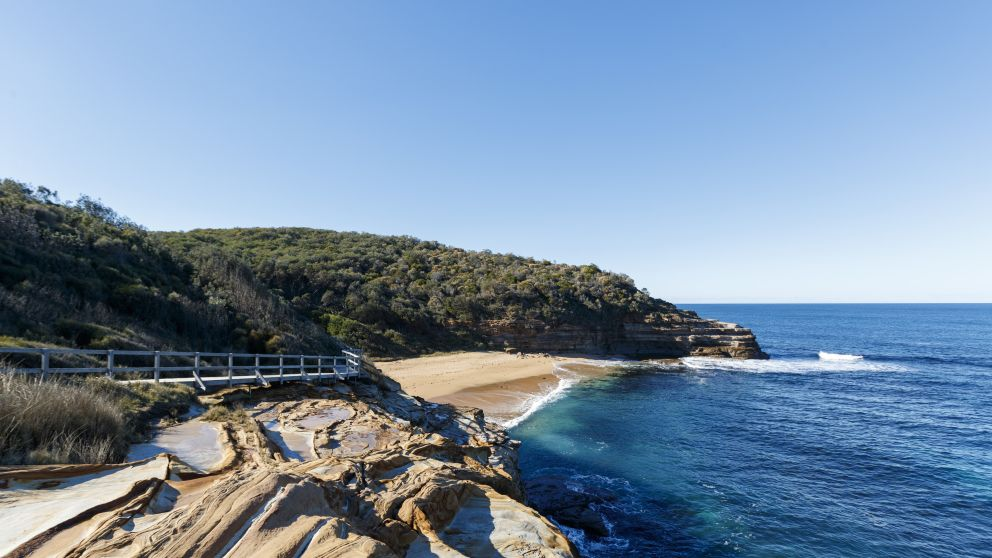 Scenic coastal views from Bouddi National Park in Bouddi, Central Coast