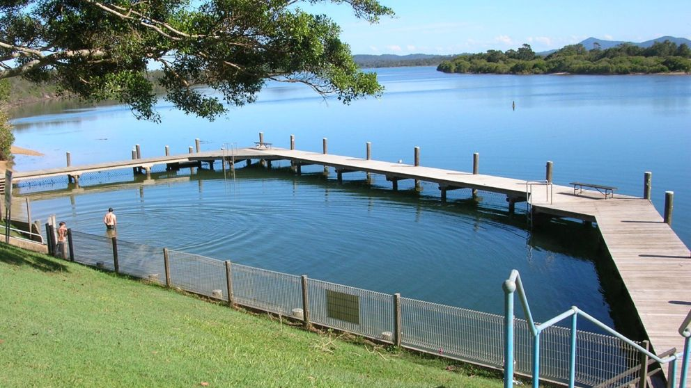 Mylestom, the delightful village nestled between the shores of the Bellinger river and a rolling surf beach, Coffs Harbour