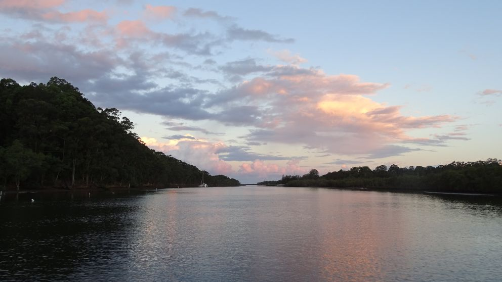 Sunset on the Brunswick River with Byron Bay Eco Cruises and Kayaks, Byron Bay