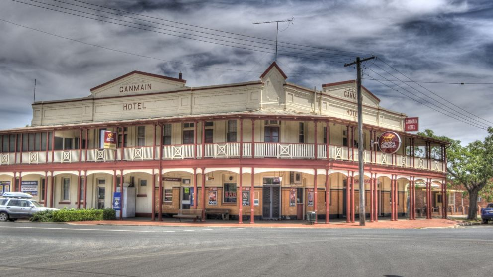 Ganmain Hotel in Coolamon, Wagga Wagga & Riverina, Country NSW