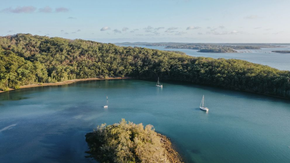 Luxury private chartered yacht experience - Blue Water Sailing - Nelson Bay - Port Stephens