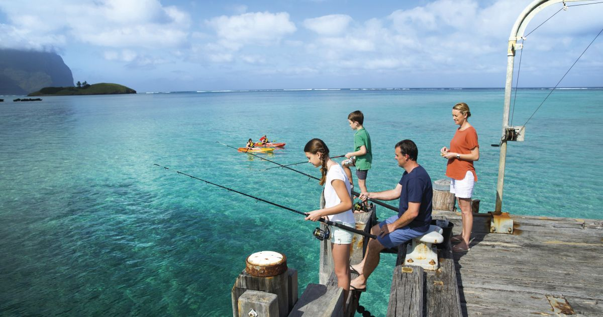 Fishing on Lord Howe Island - Where to Fish & Species